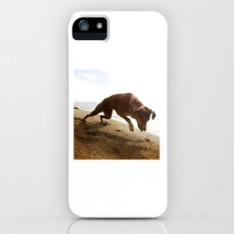 Dogs with the game face on .45 iPhone Case