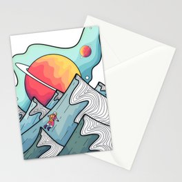 Neptune peaks and hills Stationery Cards