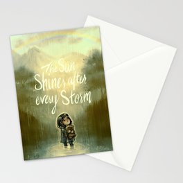 End of the Storm Stationery Cards