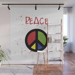 peace symbol Wall Mural