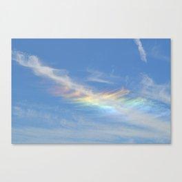 Rainbow sky Canvas Print