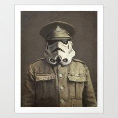 Sgt. Stormley  Art Print