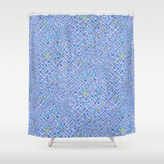 Electronic circuit Shower Curtain