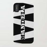 mandela iPhone & iPod Cases featuring Mandela tribute by Brian Raggatt