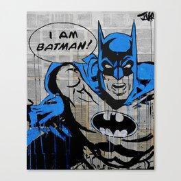 I am B*tman Canvas Print