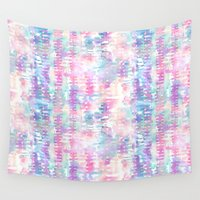 amelie Wall Tapestries featuring Amelie {Pattern 1A} by Schatzi Brown