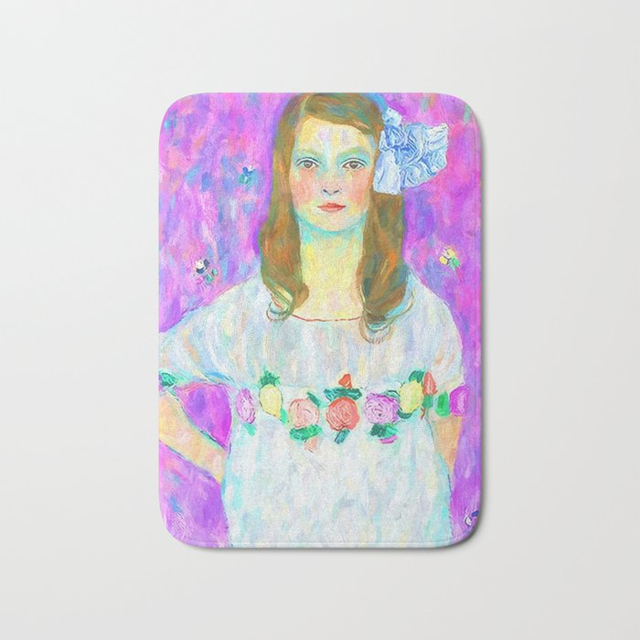 After Klimt - Portrait of Mada Bath Mat