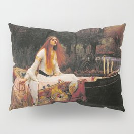 John William Waterhouse The Lady Of Shalott Pillow Sham