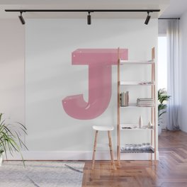 Alphabet Series- Jello J Wall Mural