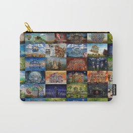 Super Collage - House Carry-All Pouch