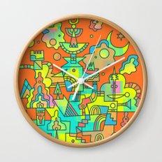 Structura 10 Wall Clock