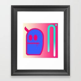 Mr. Grubbo Framed Art Print