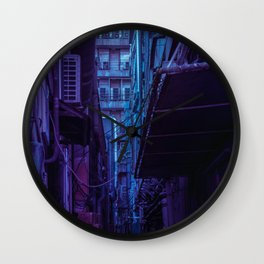 Tokyo Nights / Shadow of The Day / Liam Wong Wall Clock