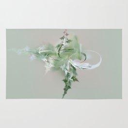 green spirit Rug