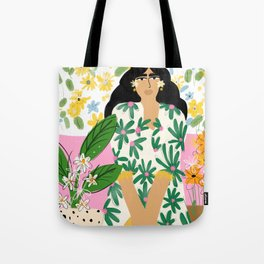 Floral fever Tote Bag