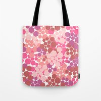 blush Tote Bags featuring Blush by nandita singh
