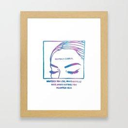 Keepin It Surreal Framed Art Print