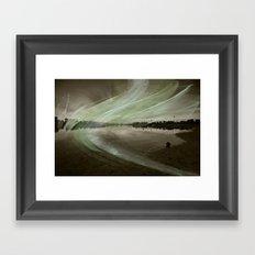 Marina Fractal Framed Art Print