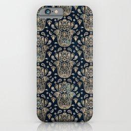 Hamsa Hand -Hand of Fatima Pattern iPhone Case