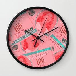 Lana for president Wall Clock