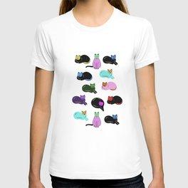 cats cats cats T-shirt
