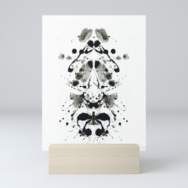 Rorschach-Poem (1) Mini Art Print