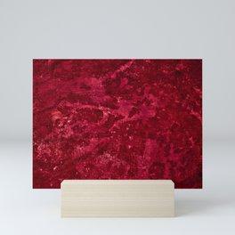Color Fields: Crimson Sky Mini Art Print