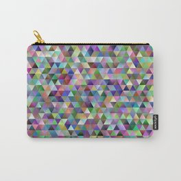 Happy triangle pattern Carry-All Pouch