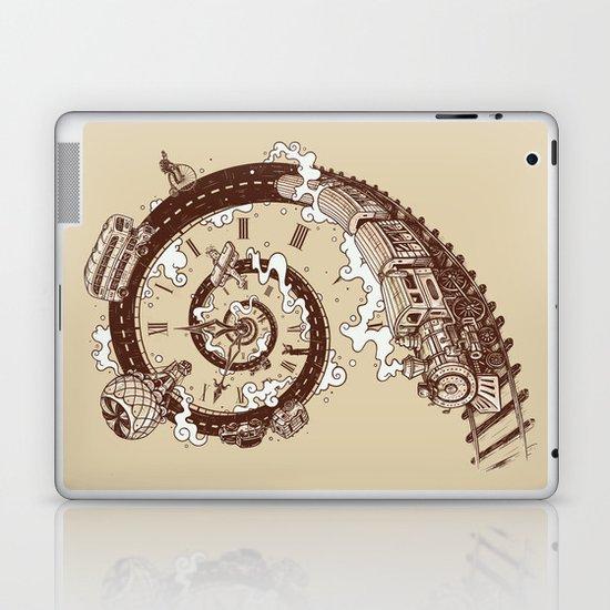 Time Travel Laptop & iPad Skin