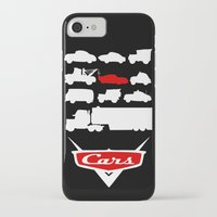 cars iPhone & iPod Cases featuring Cars by Citron Vert