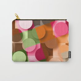 dots & squares Carry-All Pouch