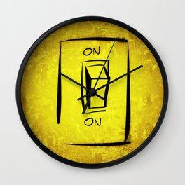 Don't turn off Wall Clock