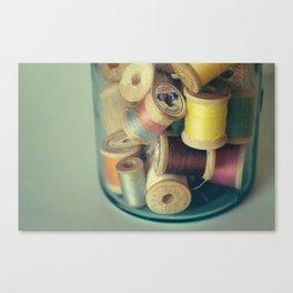 sympathetic threads Canvas Print