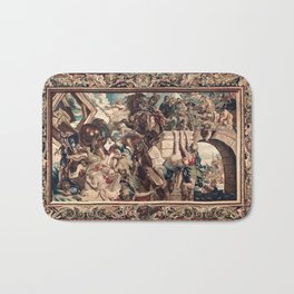 Triumph of Constantine over Maxentius at the Battle of the Milvian Bridge Bath Mat