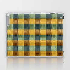 Pixel Plaid - Winter Walk Laptop & iPad Skin