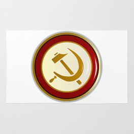Russian Pin Badge Rug