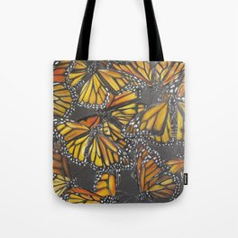 Traveling Monarch Tote Bag