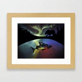 Pastel Lands Framed Art Print