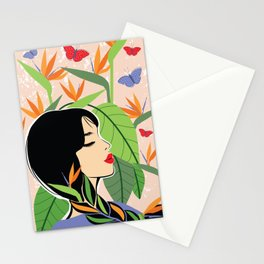 The Plant Lady Stationery Cards