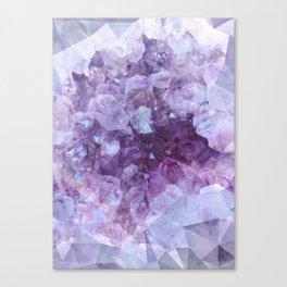 Crystal Gemstone Canvas Print