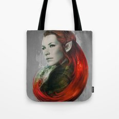 Head of Elven Tote Bag