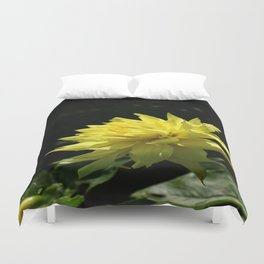 Yellow Passion Duvet Cover