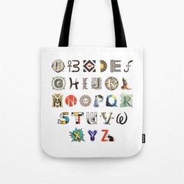 A-Z Art History Tote Bag