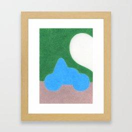Half a Heart Framed Art Print