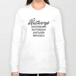 Untwerp Cities Long Sleeve T-shirt
