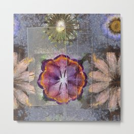 Stickball Au Naturel Flower  ID:16165-150329-07211 Metal Print