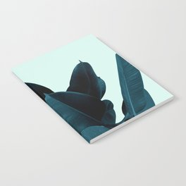 Blue Leaves Notebook