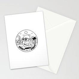 Ghost from the Coast Stationery Cards