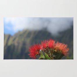 Lehua ʻUlaʻula o Kalalau Rug