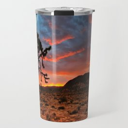 Joshua Tree Sunrise Travel Mug